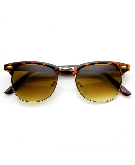 Lunette Clubmaster Leopard