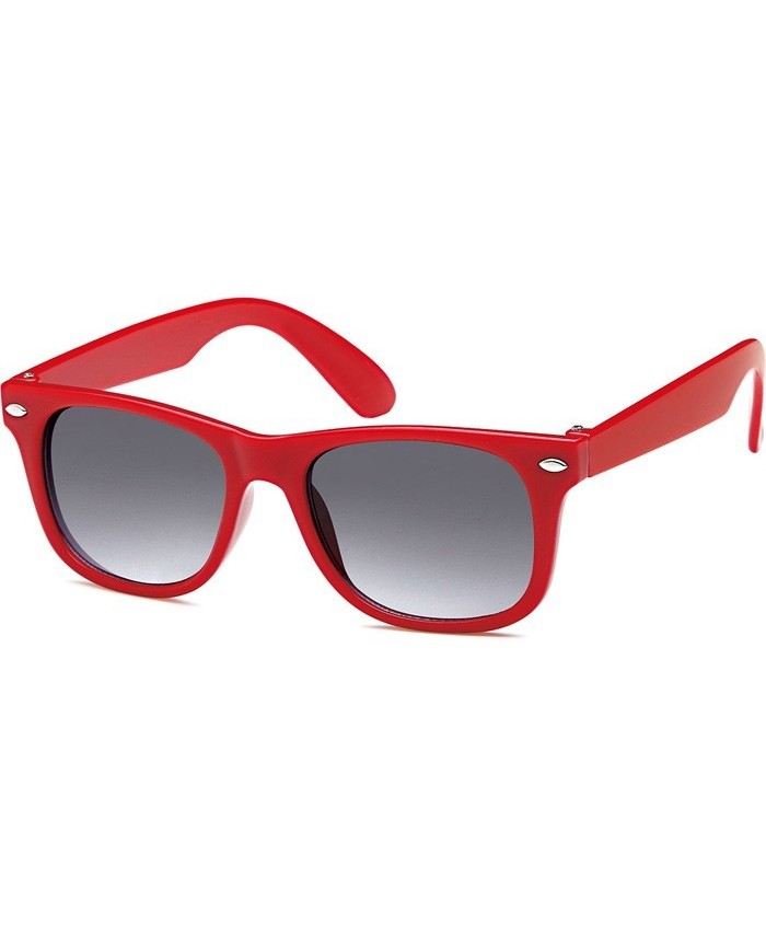 lunettes rouge pour enfant style ray ban wayfarer. Black Bedroom Furniture Sets. Home Design Ideas
