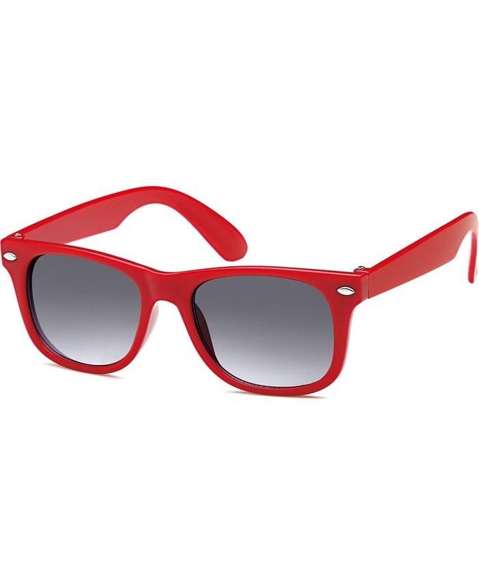 lunettes rouge pour enfant style ray ban wayfarer