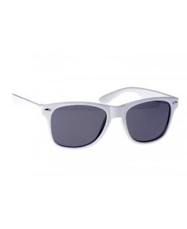 Lunettes blanc style Ray Ban