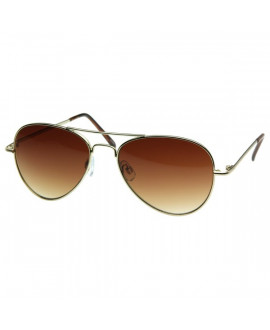 Lunettes Aviator Gold
