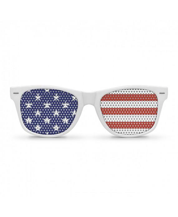 Lunettes drapeau Américain