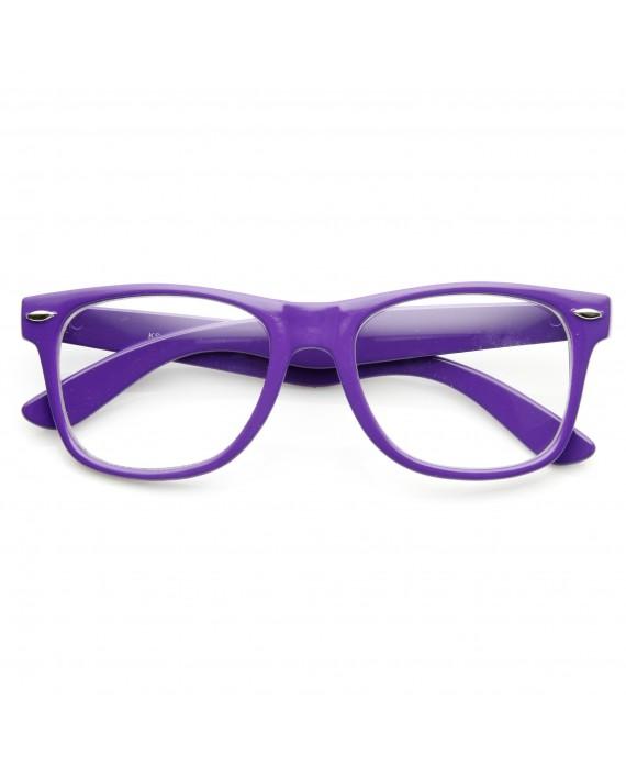 Fausses Lunette de vue Violette