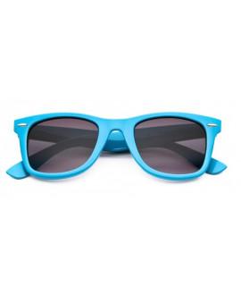 Lunettes style Wayfarer Bleu Clair