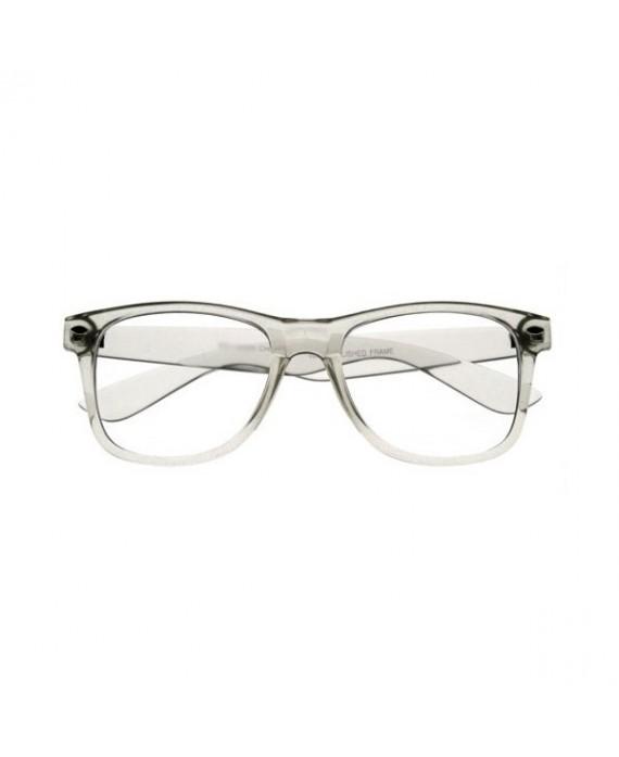 fausses lunettes de vue transparente lunettes geek transparente. Black Bedroom Furniture Sets. Home Design Ideas