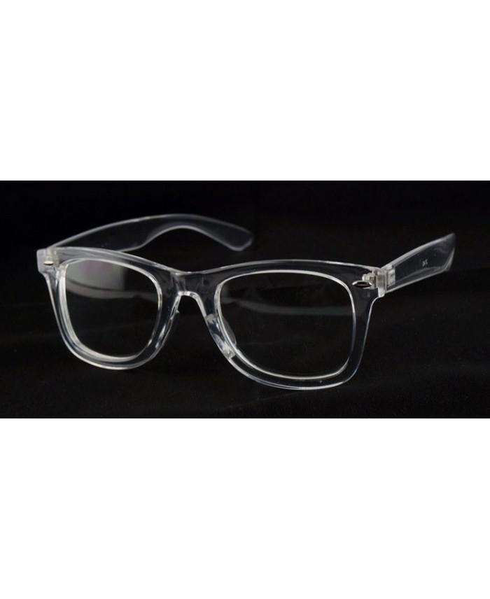fausses lunettes de vue transparente lunettes geek. Black Bedroom Furniture Sets. Home Design Ideas