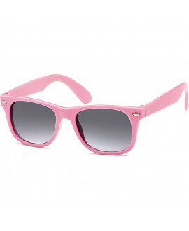 Lunettes style Ray Ban rose