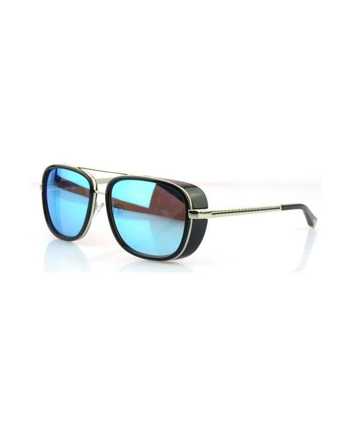 lunettes style matsuda miroir bleu tony stark. Black Bedroom Furniture Sets. Home Design Ideas