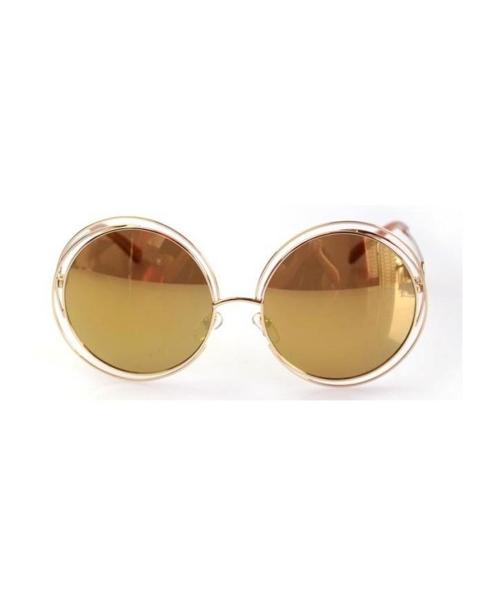 lunettes chloe carlina champagne