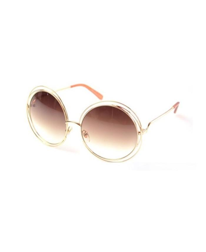 ... Lunettes style Chloé Carlina Champagne ... b1e09d5fd6a5