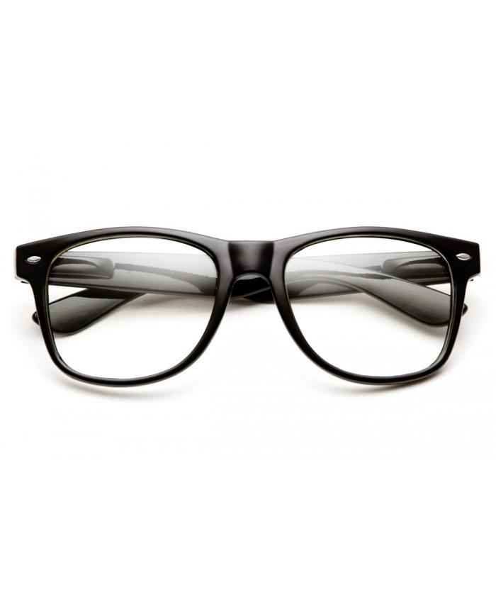 fausses lunettes de vue noire lunettes geek noir. Black Bedroom Furniture Sets. Home Design Ideas