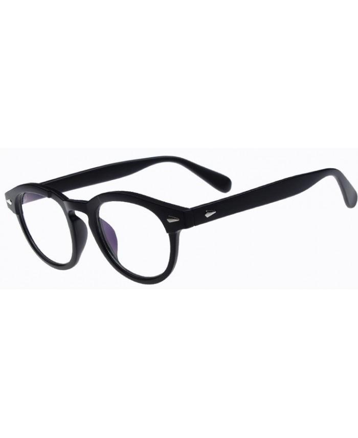 lunettes sans correction style moscot originales noir. Black Bedroom Furniture Sets. Home Design Ideas