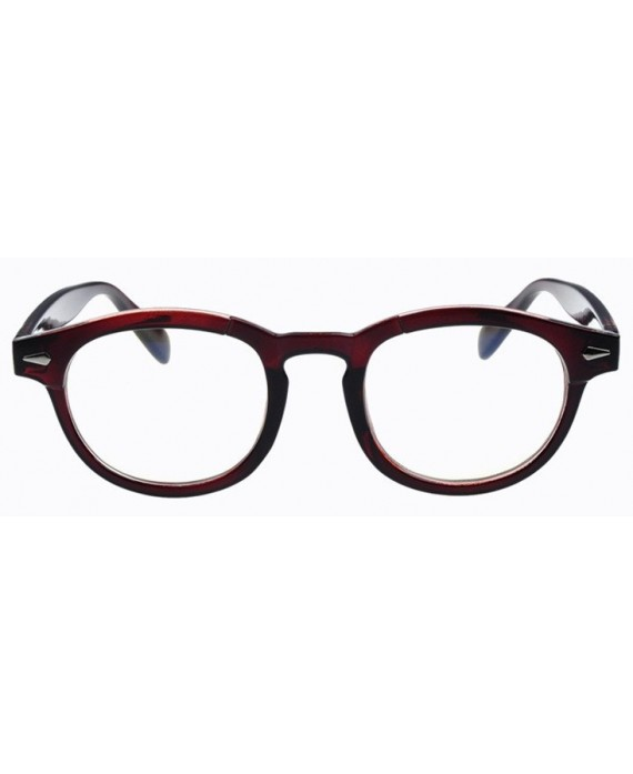 lunettes sans correction marron style moscot originales. Black Bedroom Furniture Sets. Home Design Ideas