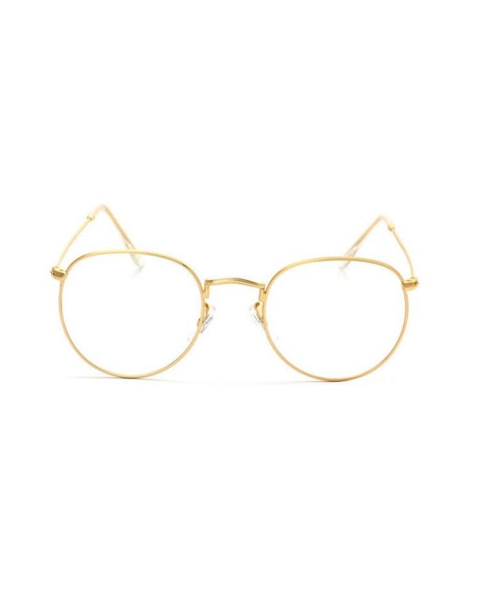 lunettes sans correction 90 39 s dor e vintage. Black Bedroom Furniture Sets. Home Design Ideas