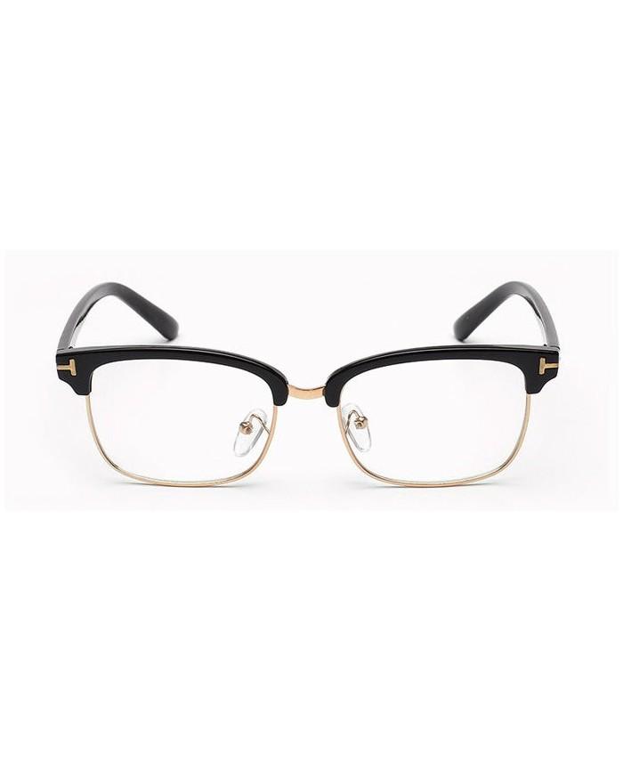 lunette sans correction style tom ford noir. Black Bedroom Furniture Sets. Home Design Ideas