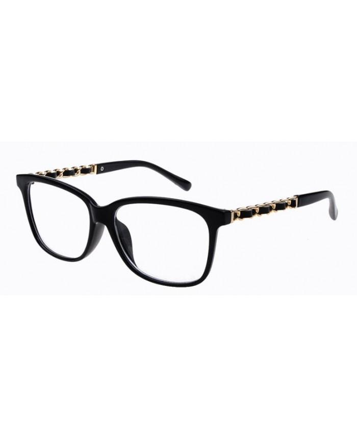fausse lunette de vue cat eyes noir. Black Bedroom Furniture Sets. Home Design Ideas