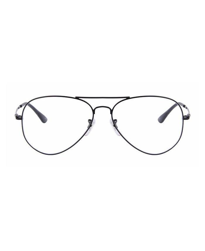 lunette aviator sans correction noir vintage. Black Bedroom Furniture Sets. Home Design Ideas