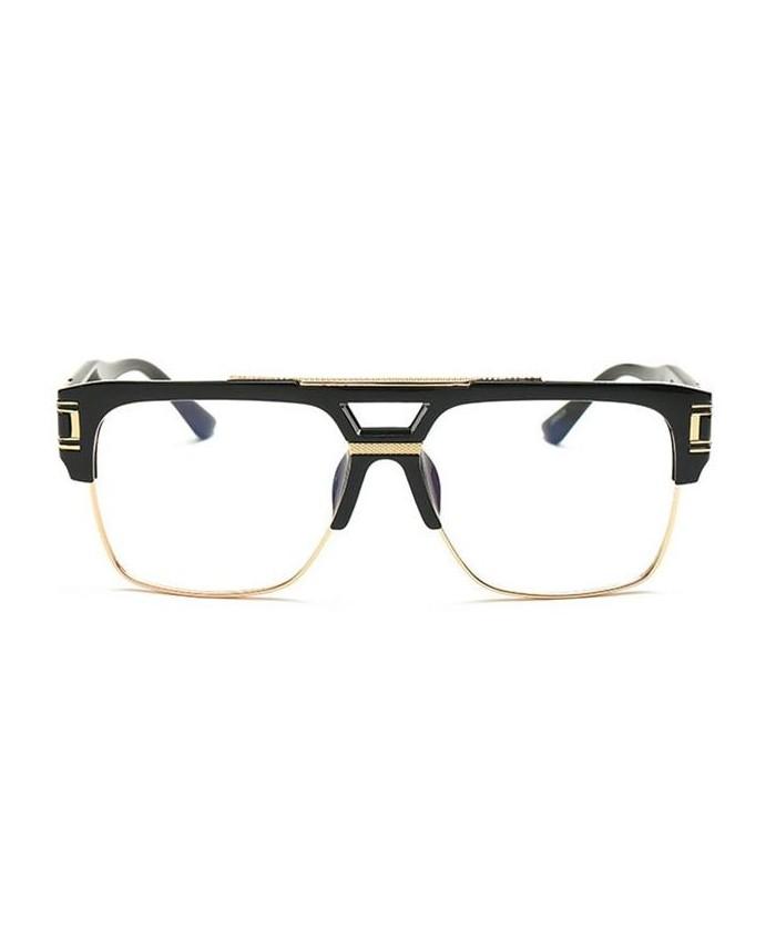 lunettes hip hop sans correction prestige noir. Black Bedroom Furniture Sets. Home Design Ideas