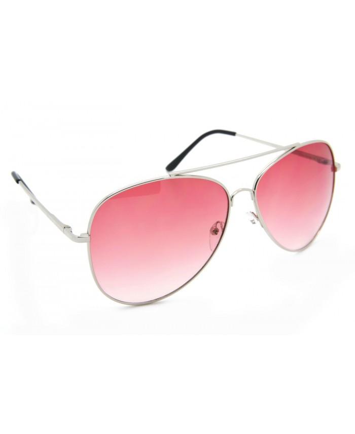 solaire style Aviator Coachella dégradé rose