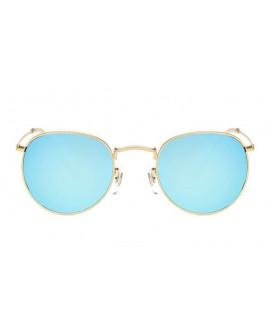 Lunettes de soleil 90's Miroir Bleu