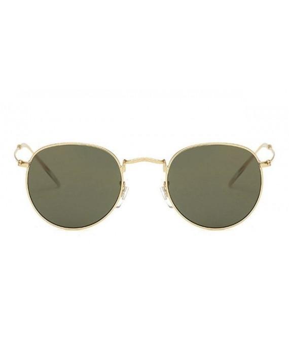 Lunettes de soleil 90's Miroir vert