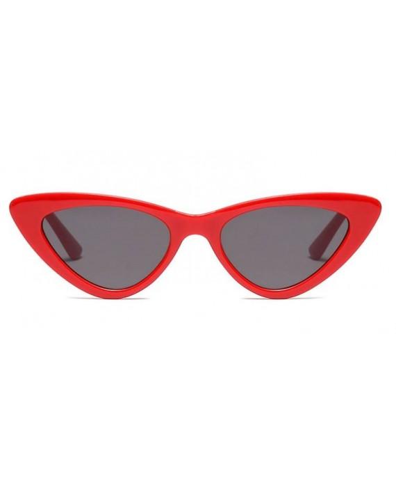 lunettes de soleil cat eyes retro rihanna rouge. Black Bedroom Furniture Sets. Home Design Ideas