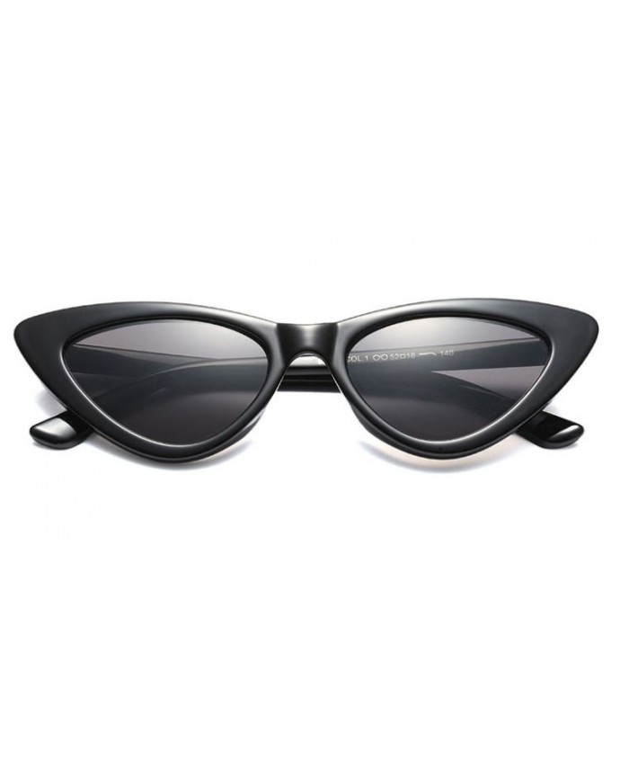 lunettes de soleil cat eyes retro rihanna noire. Black Bedroom Furniture Sets. Home Design Ideas