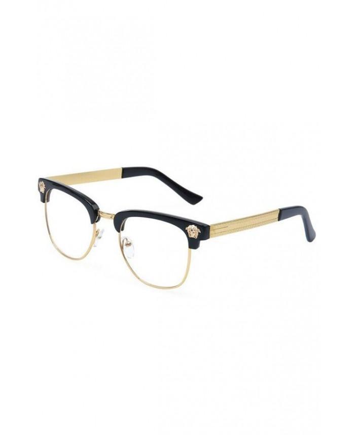lunettes sans correction medusa gold. Black Bedroom Furniture Sets. Home Design Ideas