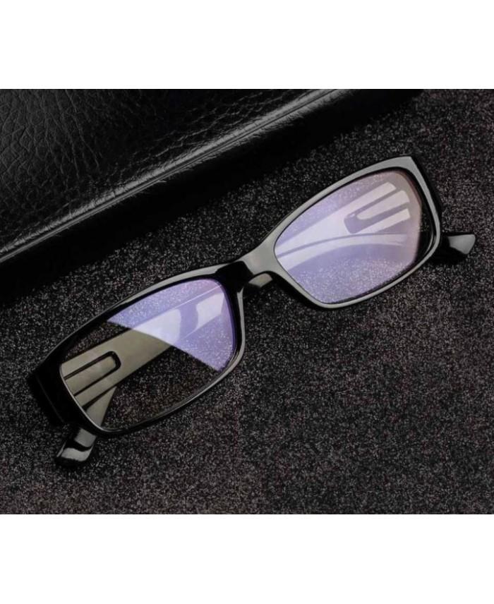 lunette anti lumi re bleue classique noire. Black Bedroom Furniture Sets. Home Design Ideas