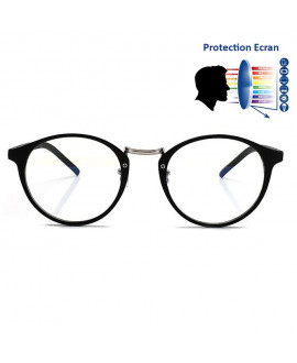 lunette anti lumi re bleue sans correction lunette vintage. Black Bedroom Furniture Sets. Home Design Ideas