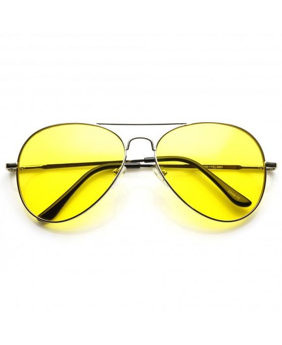 Aviator verres jaunes
