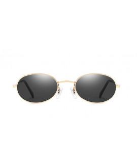 Lunettes Ovale MHD dorée / noir