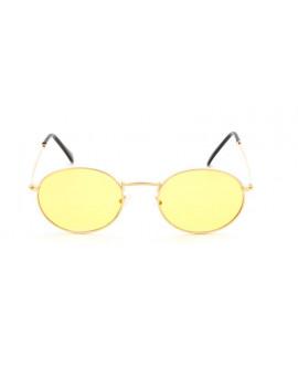 Lunettes Ovale MHD teinté jaune