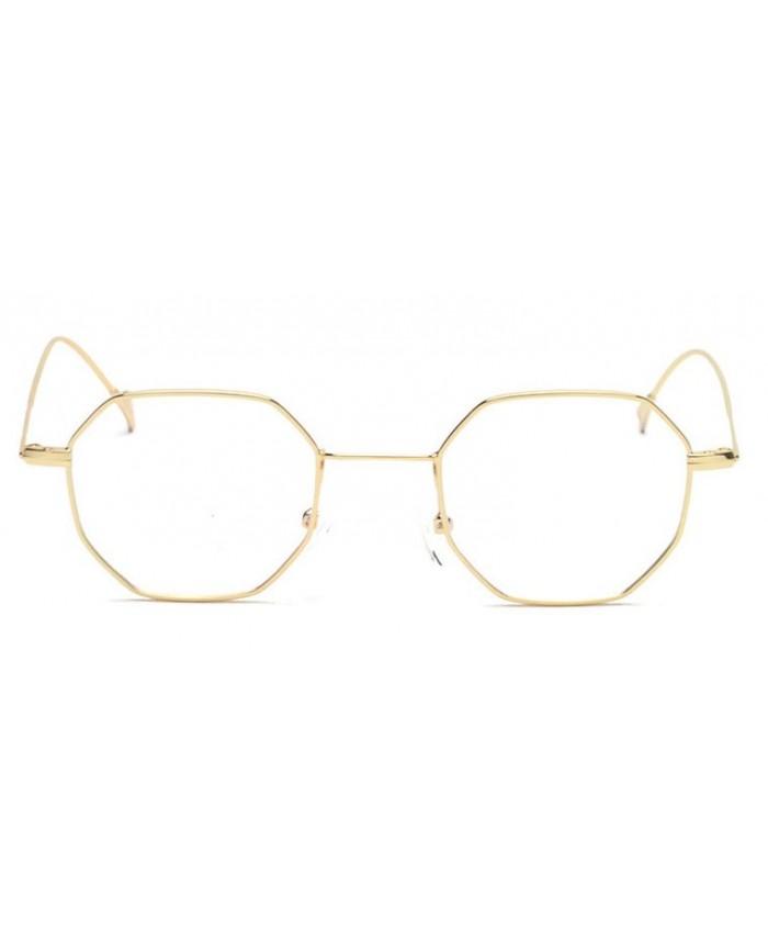 lunettes sans correction octogonale. Black Bedroom Furniture Sets. Home Design Ideas