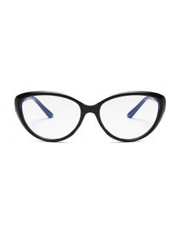 Lunettes Anti Lumière bleue Oeil de chat Noir