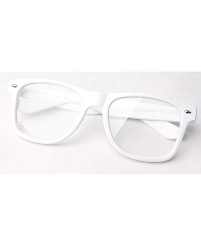 Montures lunettes blanches