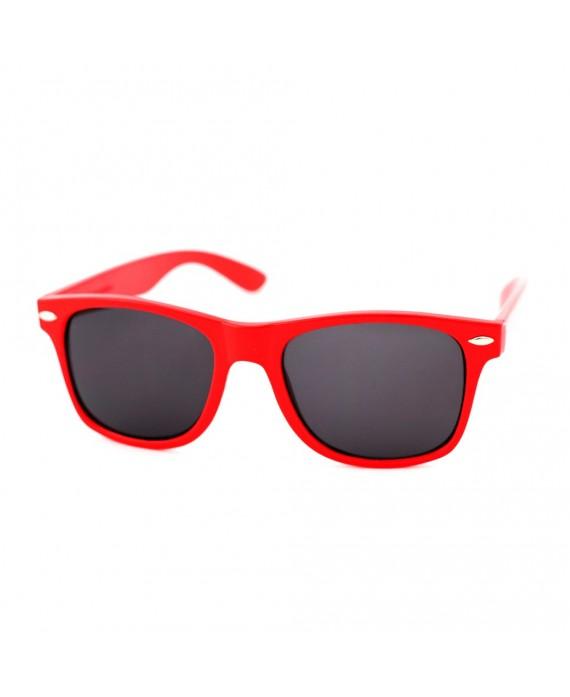 Lunette style Wayfarer Rouge