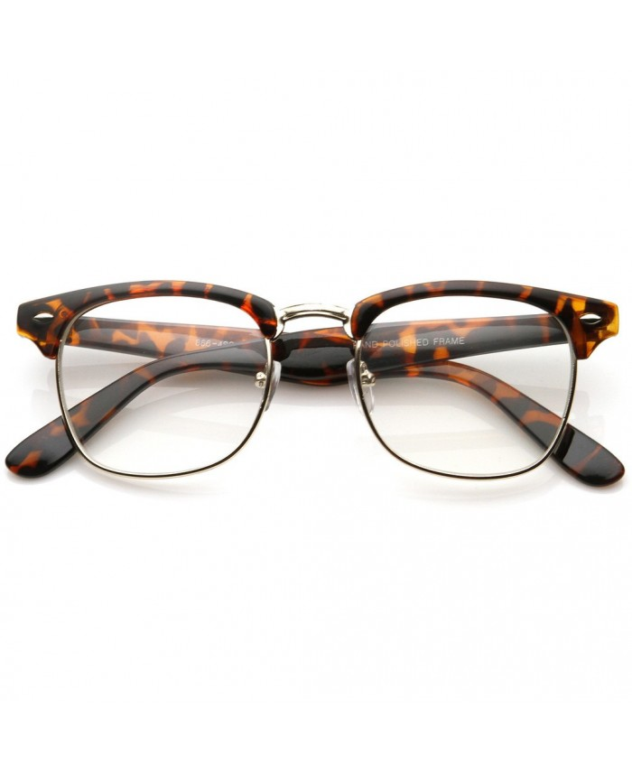 lunettes sans correction style clubmaster leopard. Black Bedroom Furniture Sets. Home Design Ideas
