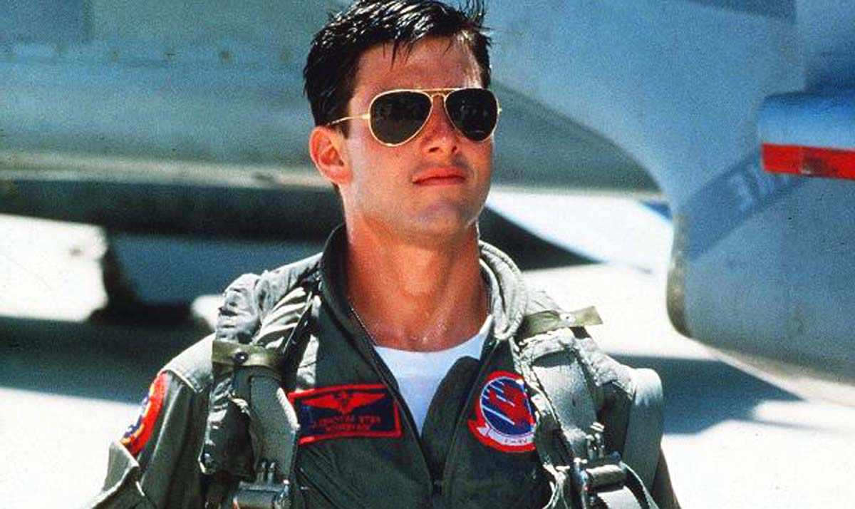 Tom Cruise Lunettes aviator