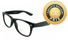Lunettes sans correction style ray ban