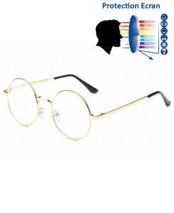 lunettes-protection-lumiere-bleue-oversize-doree